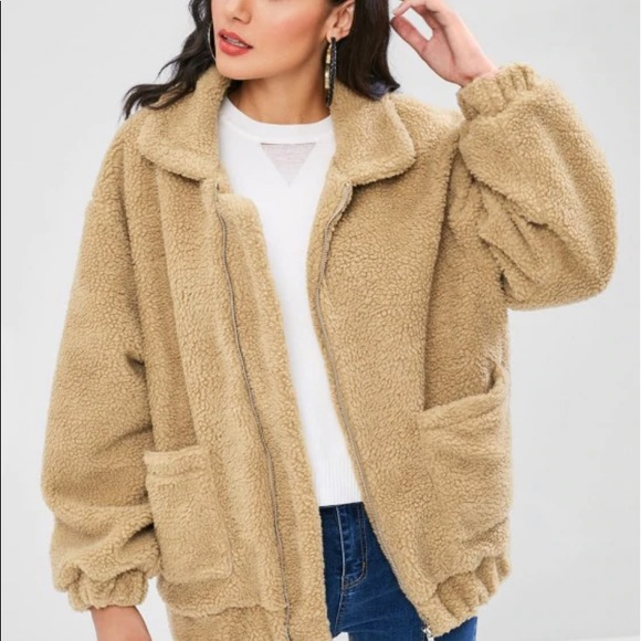 To Buy Best Loved New Photos Teddy Bear Jacket Light Brown